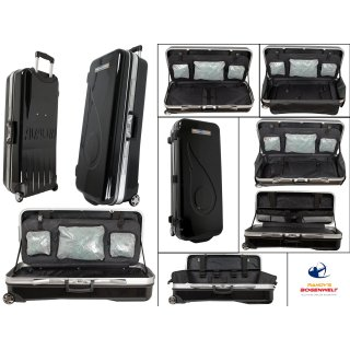 AVALON TEC ONE ABS CASE WITH WHEELS BLACK