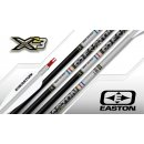 EASTON ALUMINIUM SCHAFT X23 SILVER/BLACK